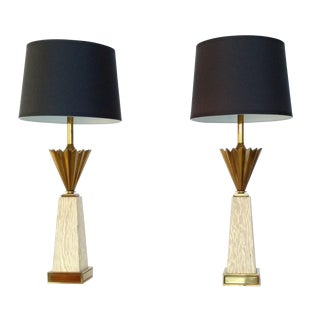 Hollywood Regency Stiffel Lamps - Pair For Sale
