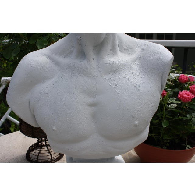 Large Scale Bust of David For Sale - Image 11 of 13