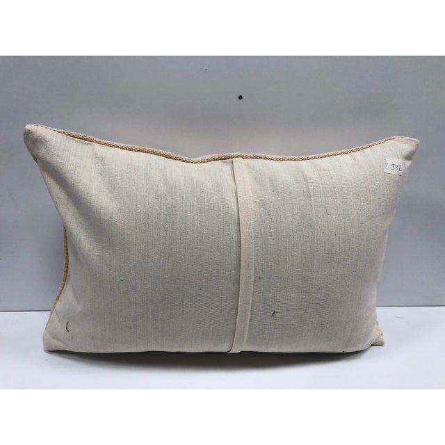 Patterned Decorative Turkish Handmade Ethnic Cushion Cover For Sale - Image 4 of 6
