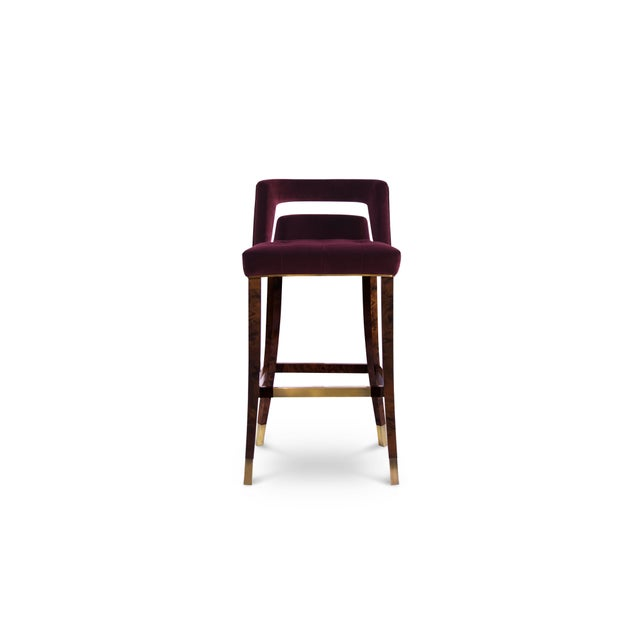 Metal Naj Bar Chair From Covet Paris For Sale - Image 7 of 7