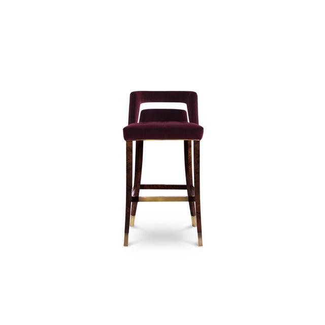 Ash Naj Bar Chair From Covet Paris For Sale - Image 7 of 7