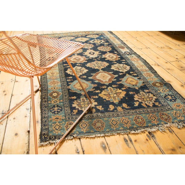 "Antique Malayer Rug Runner - 3'8"" x 6'10"" For Sale - Image 4 of 10"