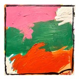 """Image of """"Busybody"""" Colorful Abstract Painting by Ebony Boyd For Sale"""