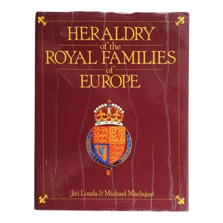 Heraldry of the Royal Families of Europe Book For Sale