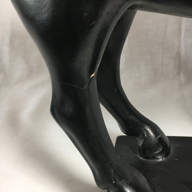 Chalkware Tang Style Horse Figure - Image 10 of 10