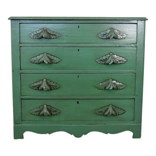 Farmhouse Style Green Dresser For Sale