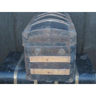 Antique Small Domed Trunk Preview