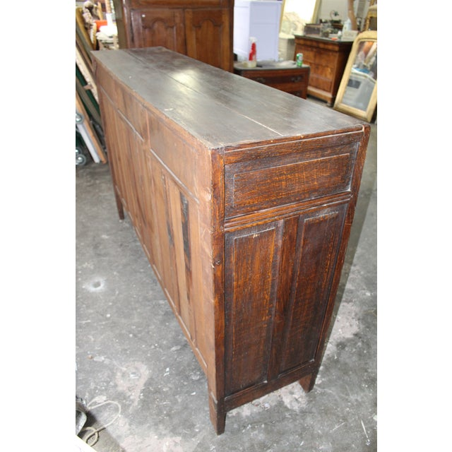 18th Century French Neoclassical Buffet/Sideboard For Sale - Image 10 of 12