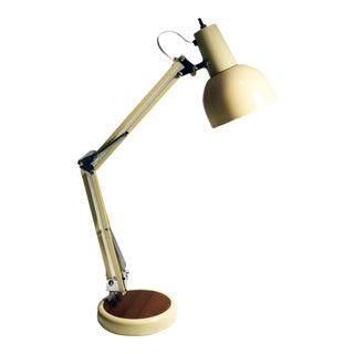 Vintage Off-White Work/Study Desk Lamp