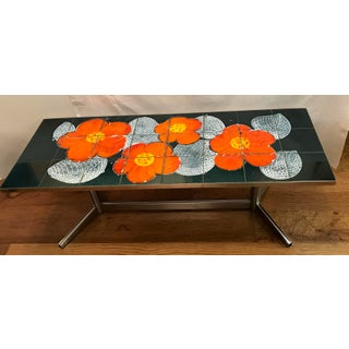 20th Century French Tile Top Coffee Table Preview