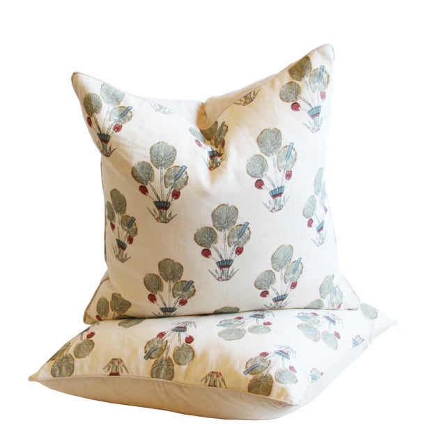 Katie Leede Ra Thebes Collection Pillows - Pair - Image 1 of 3