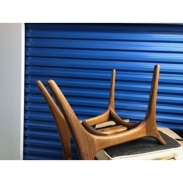 Vladimir Kagan Vladimir Kagan Mid-Century Armless Upholstered Chair For Sale - Image 4 of 7