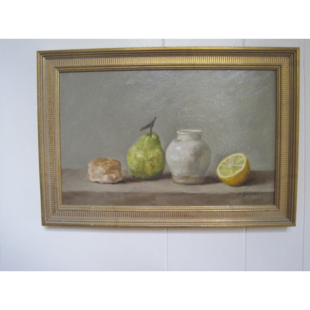 Realism Still Life Oil Painting For Sale - Image 3 of 5
