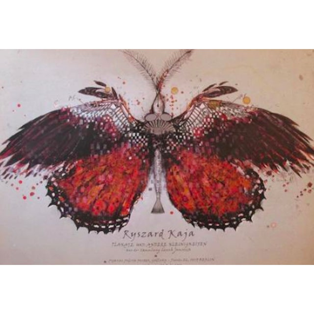 Original Polish Exhibition Poster, Red Butterfly - Image 2 of 2