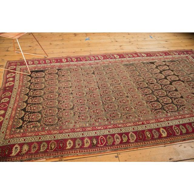 """Old New House Antique Karabagh Carpet - 5'2"""" x 9'4"""" For Sale - Image 4 of 11"""
