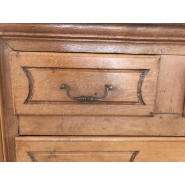 Wood 19th Century French Four-Drawer Commode For Sale - Image 7 of 8