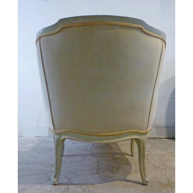 Classic 1960s Shabby Chic French Custom Chaise - Image 7 of 7