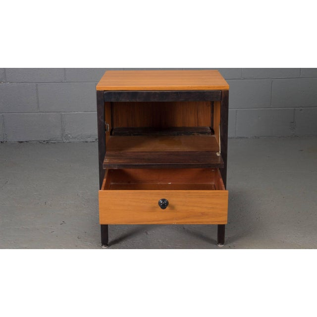 1950s Small Steelframe Stereo Cabinet Side Table by George Nelson for Herman Miller For Sale - Image 5 of 9