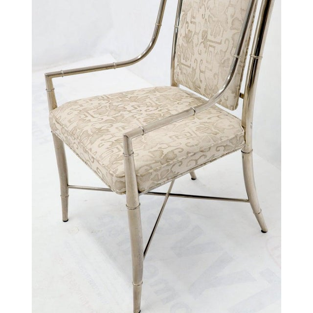 Imperial Dining Room Chair by Weiman / Warren Lloyd for Mastercraft in Chrome For Sale - Image 10 of 13