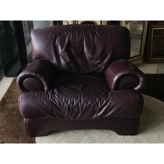 Italian Leather Modern Bergere Preview