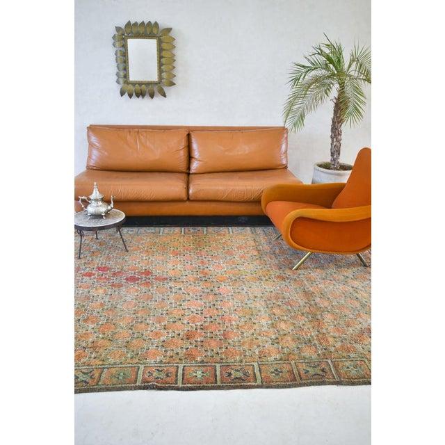 Beni Mguild Vintage Moroccan Rug - 6′3″ × 9′5″ For Sale - Image 4 of 9