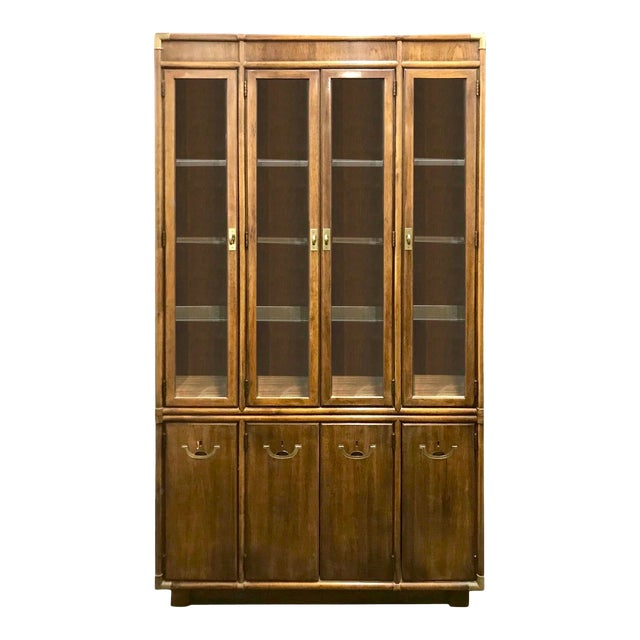 Drexel Accolade Campaign China Cabinet For Sale