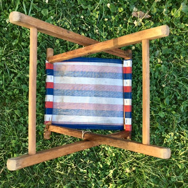 Vintage Camp Stool - A Pair - Image 6 of 11