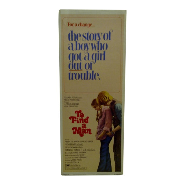 """1971 Vintage Movie Poster of """"To Find a Man"""" For Sale"""