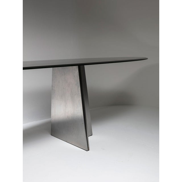 """Mid-Century Modern Rare """"Ufo"""" Table by Luigi Saccardo for Arrmet For Sale - Image 3 of 7"""