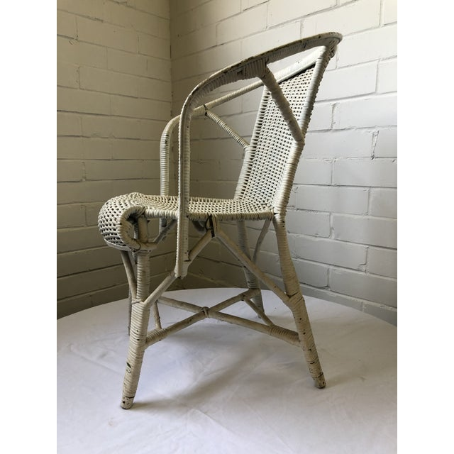 Early 20th Century Wicker Child's Chair For Sale - Image 10 of 13