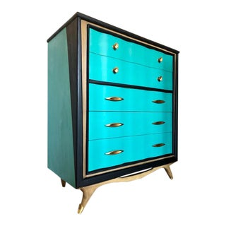 1960s Mid Century boy Dresser by Kent Coffey For Sale