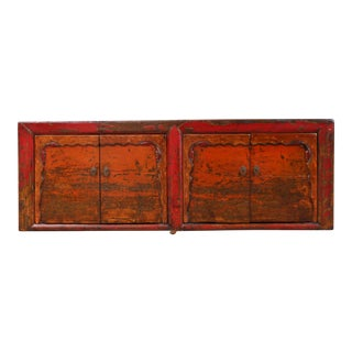 Vintage Oriental Style Cabinet For Sale