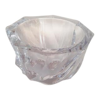 Orrefor of Sweden, Residence Style Lead Crystal Vase For Sale