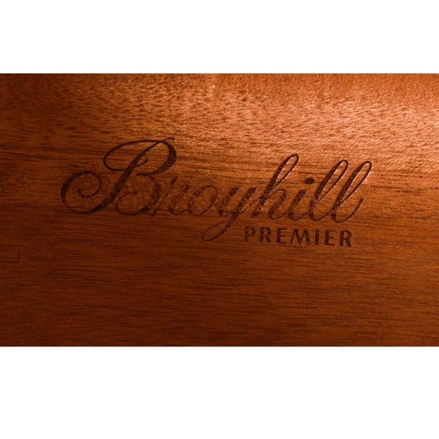 Broyhill Brasilia Mid Century Walnut Buffet Credenza Hutch For Sale - Image 10 of 13