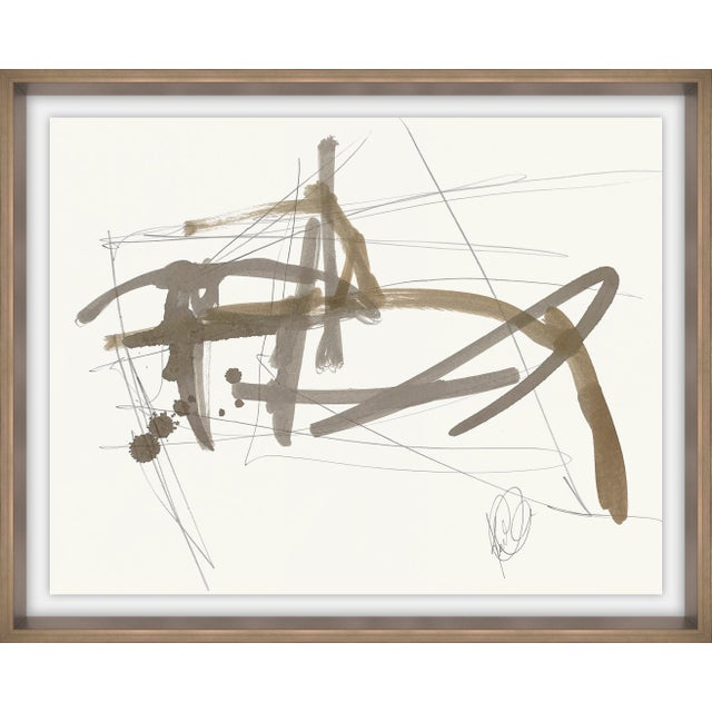 Abstract Flight Patterns IV Print For Sale