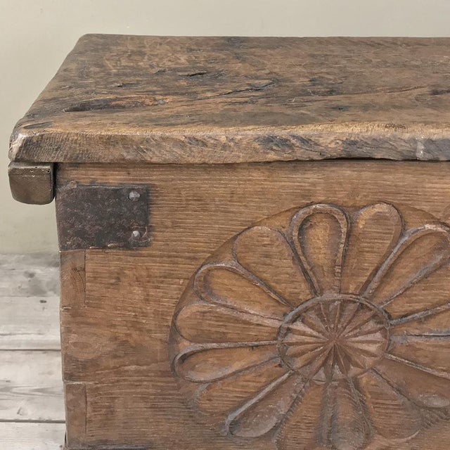 17th Century Spanish Trunk For Sale - Image 10 of 12
