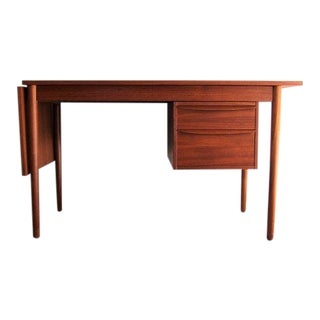 Danish Teak Expandable Desk