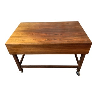 Mid Century Modern Side Table Rosewood Side Table For Sale