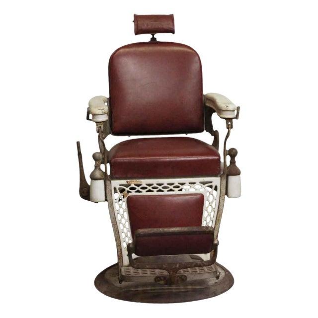 Antique Emil J. Padair Barber Chair For Sale - Antique Emil J. Padair Barber Chair Chairish