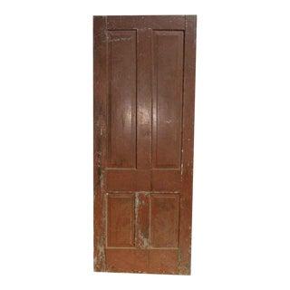 Antique Four Panel Interior Door