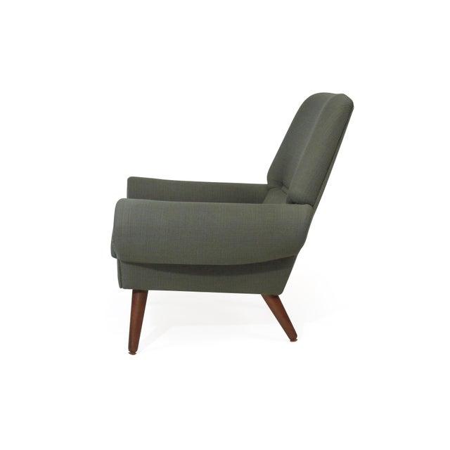 Danish Modern Kurt Ostervig Danish Lounge Chair for Custom Upholstery For Sale - Image 3 of 8