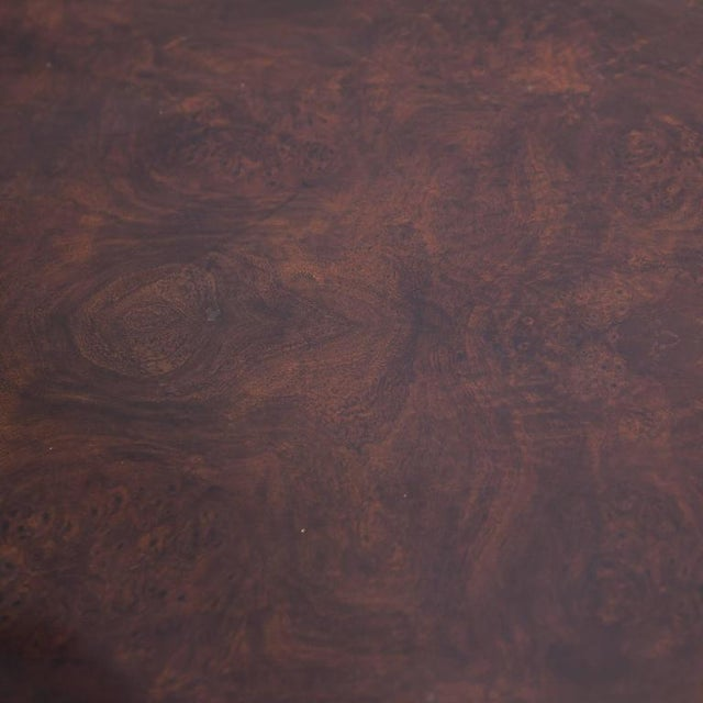 Serpentine Front Buffet in Burled Walnut by Gregory Clark For Sale - Image 4 of 7