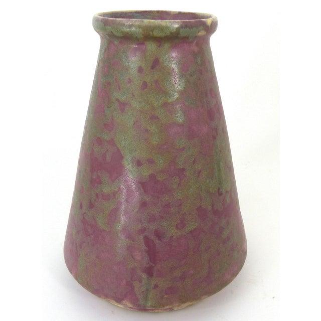 Vintage Burley Winter Conical Vase - Image 2 of 8