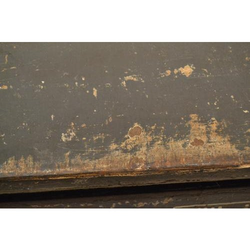 Antique Chest With New Paint From Spain For Sale - Image 4 of 13
