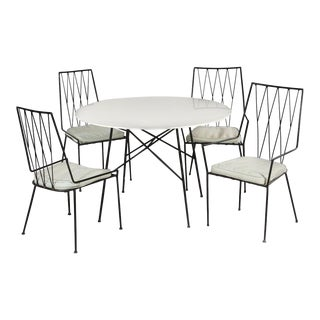 Paul McCobb Pavilion Collection Table and Chairs Dining Set For Sale