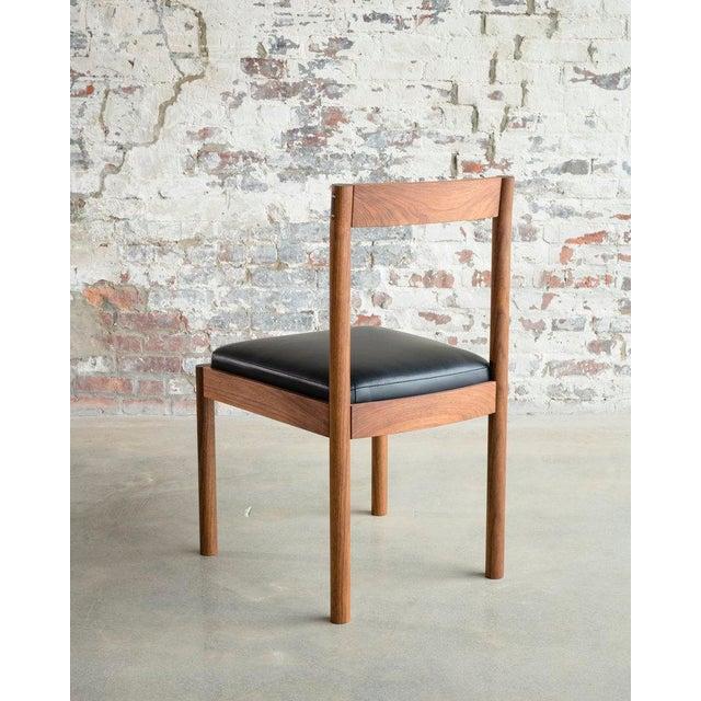 Bowen Liu Feast Side Chair in Walnut For Sale - Image 4 of 7