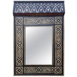 Image of Moroccan Chalet Bone Mirror - Marrakech 1 For Sale