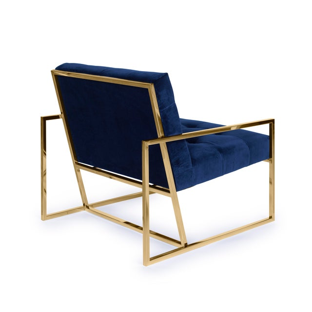 Pasargad's Firenze Collection Lounge Chair - Image 6 of 8