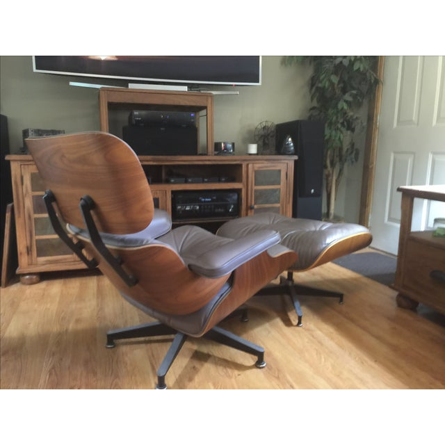 Herman Miller Eames Lounge Chair & Ottoman - Image 5 of 6