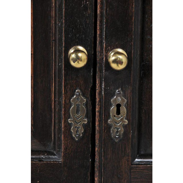 1770 English Oak Cupboard/Livery Cabinet For Sale - Image 10 of 12